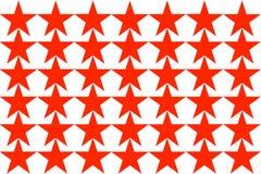 Modèle de Red Star sur l'illustration sans couture de fond blanc Conception moderne Peut être employé pour les affaires, le site  illustration stock
