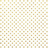 Modèle de scintillement d'or Scintillement Dots White Background Textures de scintillement illustration de vecteur