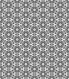 Modèle de Seamsless noir et blanc Photo libre de droits