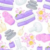 Modèle de serviettes Image stock