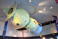 Modèle de Soyuz au Centre Spatial Kennedy Photographie stock