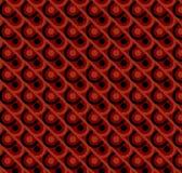 Modèle de style de la disco rouge de tissu Photos libres de droits