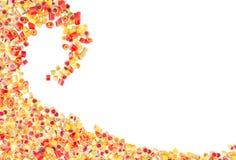 Modèle de sucreries de fruit pour le fond Photos stock