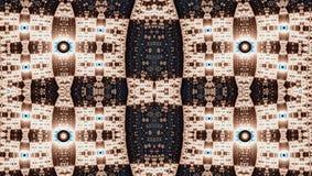 Modèle de symétrie de fractale (Julia a placé) Photo stock