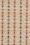 Modèle de tapis de Reed Photo stock