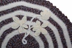 Modèle de tapis tricoté Image libre de droits