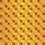 Modèle de texture d'or Photographie stock
