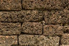 Modèle de texture de mur de latérite Photographie stock libre de droits