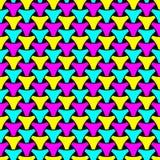 Modèle de tissage sans couture de surface de squama de triangle illustration stock