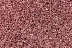 Modèle de tissu de denim dans la couleur rouge Image libre de droits