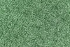 Modèle de tissu de denim dans la couleur verte Photo stock