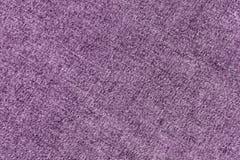 Modèle de tissu de denim dans la couleur violette Photo libre de droits