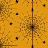 Modèle de toile d'araignée illustration de vecteur