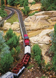 Modèle de train Image libre de droits