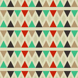 Modèle de triangle de fond Image libre de droits