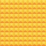 Modèle de triangle et de place Photos libres de droits