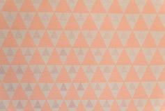 Modèle de triangle, texture abstraite géométrique Images stock