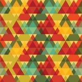 Modèle de triangles Images stock