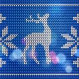 Modèle de tricotage Photographie stock