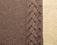 Modèle de tricotage Image libre de droits