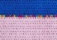 Modèle de tricotage Photographie stock libre de droits