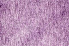 Modèle de tricotage de vêtements de couleur violette Images libres de droits