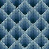 Modèle de tricotage sans couture dans des tonalités bleuâtres de gradation Images libres de droits