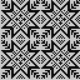 Modèle de tricotage traditionnel pour le chandail laid Photo libre de droits