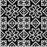 Modèle de tricotage traditionnel pour le chandail laid Images libres de droits