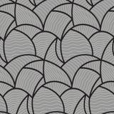 Modèle de vague abstrait sans couture photographie stock