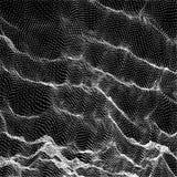 Modèle de vague Fond abstrait de vecteur Texture simple pour votre conception Concept de technologie illustration stock