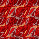Modèle de vague sans couture, fond de vagues Conception de papier peint Vecto Photo stock
