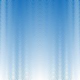Modèle de vagues sans couture blanc et bleu sur le fond ombragé bleu-clair illustration de vecteur