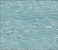 Modèle de vape de texture de vecteur Images stock