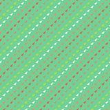 Modèle de vecteur avec des triangles dans le style de hippie Photos stock