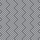 Modèle de vecteur avec l'entrelacement des lignes épaisses Hachure traditionnelle du graphique architectural Image libre de droits
