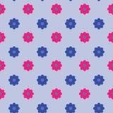 Modèle de vecteur de fond avec des fleurs Image stock