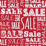 Modèle de vente Images stock