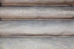 Modèle de vieux panneaux en bois fond Gris-brun de panneaux Photos libres de droits