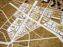 Modèle de ville Photo libre de droits
