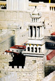 Modèle de ville de Jérusalem photo stock