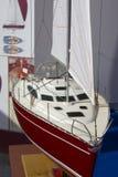 Modèle de yacht Image libre de droits