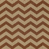 Modèle de zigzag abstrait - fond sans couture - texture en cuir Image libre de droits