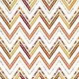 Modèle de zigzag abstrait pour la conception de couverture Photographie stock libre de droits