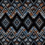 Modèle de zigzag abstrait pour la conception de couverture Image libre de droits