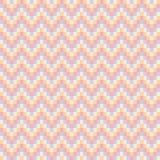 Modèle de zigzag abstrait sans couture - illustration Photographie stock libre de droits
