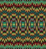 Modèle de zigzag d'Ethinc Photographie stock libre de droits