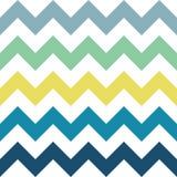 Modèle de zigzag de mer Photos stock