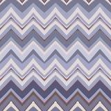 Modèle de zigzag ethnique dans de rétros couleurs, vect sans couture de style aztèque Photo libre de droits