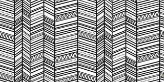 Modèle de zigzag sans couture 1 Images libres de droits